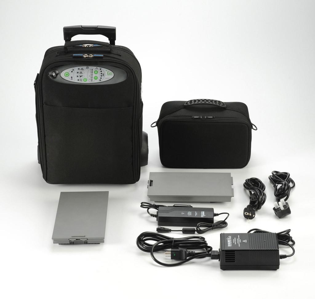 Kyslíkový koncentrátor, dýchací přístroj DeVilbiss iGO 3L