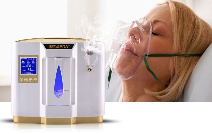 Kyslíkový koncentrátor OX ONE DEDA 6L s nebulizérem, 96 %
