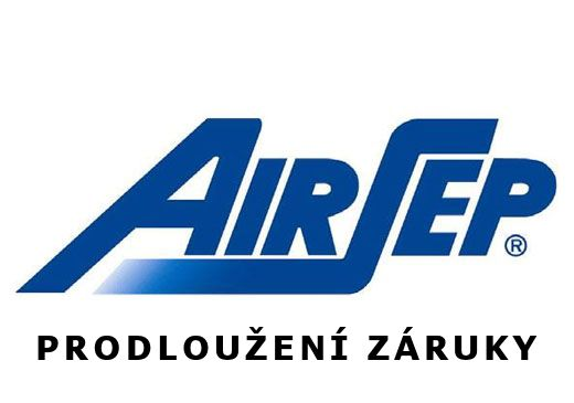 AirSep - PRODLOUŽENÍ ZÁRUKY na 5 let - Focus, FreeStyle 3