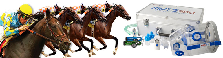 Kyslíková maska pro koně MPTS 360 s ultrasonickým nebulizérem