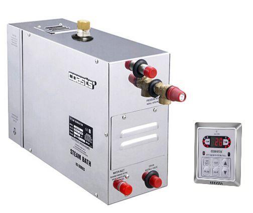 Parní generátor, vyvíječ páry pro sauny KSA-75 s ovládacím panelem KS-200A, 380V