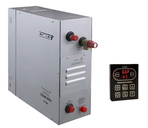 Parní generátor, vyvíječ páry pro saunu KSB-120D s ovládacím panelem KS-320A, 380V