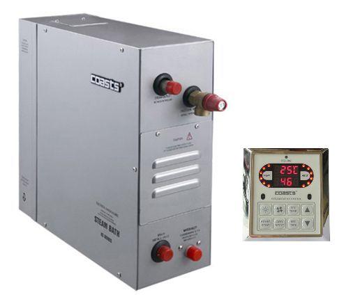 Parní generátor, vyvíječ páry pro saunu KSB-90D s ovládacím panelem KS-300, 380V