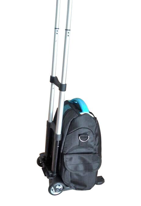 Přenosný kyslíkový koncentrátor s dvěma bateriemi a vozíkem OX ONE GBA 5L, 90%