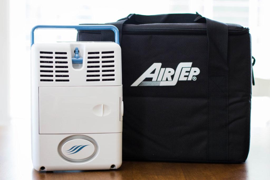 Kyslíkový koncentrátor, dýchací přístroj AIRSEP FREESTYLE 3L