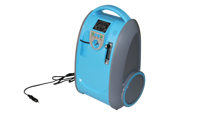 Přenosný kyslíkový koncentrátor s baterií LOVEGO LG101 - 5L, 90%