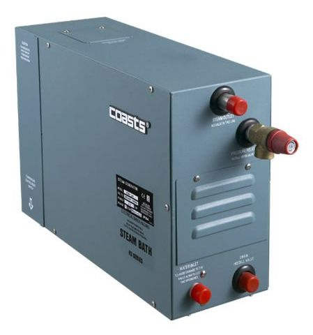 Parní generátor, vyvíječ páry pro saunu KSA-105 s ovládacím panelem KS-200A, 380V