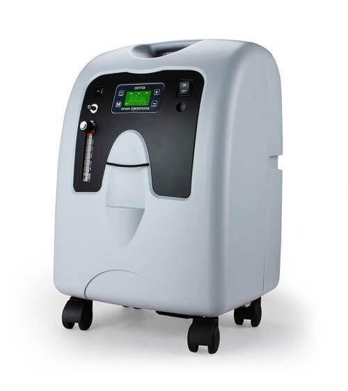 Kyslíkový koncentrátor, dýchací přístroj LOVEGO OX-10A (LG1002) - 10L, 90%