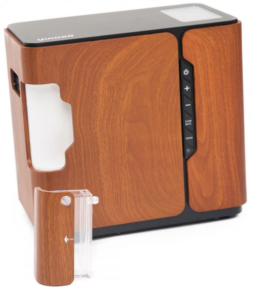 Kyslíkový koncentrátor, dýchací přístroj YU-500, 90 %
