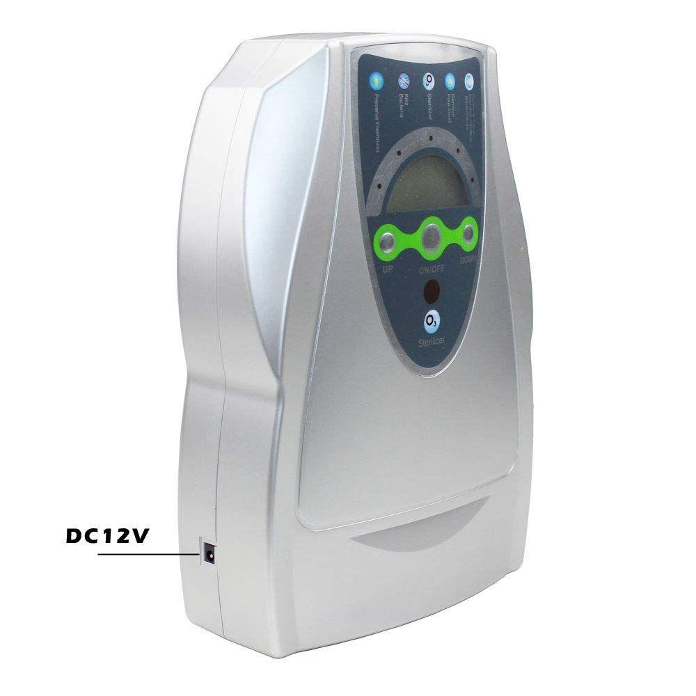 Ozónový generátor TRUME N1669 – 500 mg/h do domácnosti i do auta - stříbrný